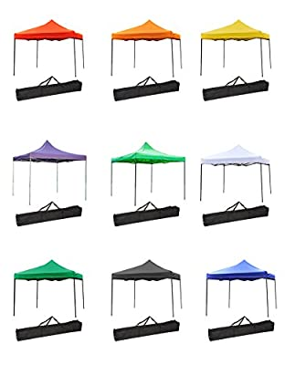 Trademark Innovations Portable Event Canopy Tent 10FTCANOPY-P