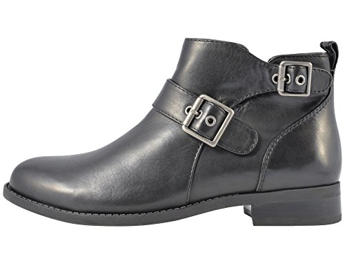 Ankle Size 5 Boots 7 Fashion Toe Womens Closed Vionic Black wHqARtw
