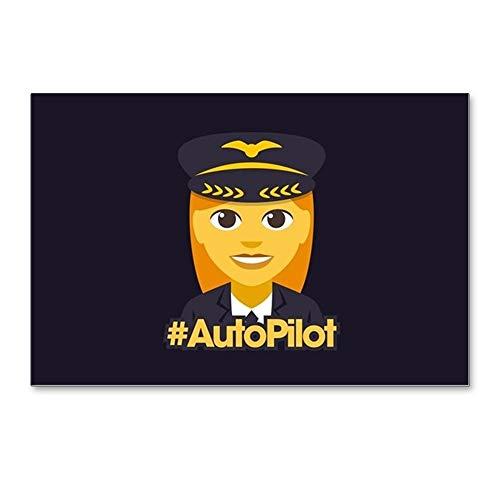 (CafePress Hashtag Autopilot Postcards (Package of 8), 6