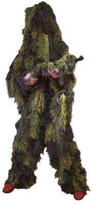 Red Rock Outdoor Gear Men's Youth Ghillie Suit, Woodland Camouflage, (Kids Ghillie Suit Costume)