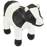 Bedtime Pal 6.5 Super Soft Plush Cow Stuffed Anmial Toy By Hands On Learning