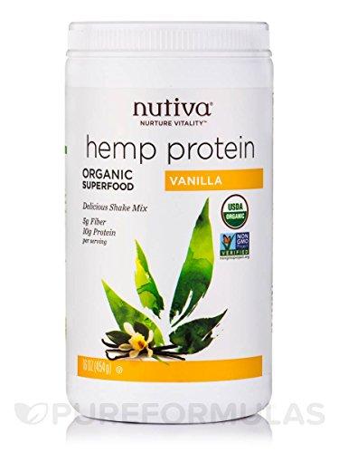 Nutiva Organic Vanilla Shake Ounce