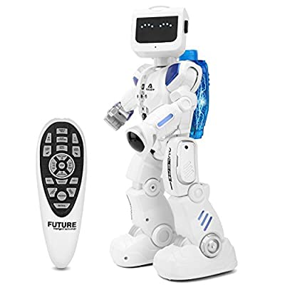 Zooawa Remote Control Robot Intelligent Programmable Humanoid Dancing RC Toy for Kids