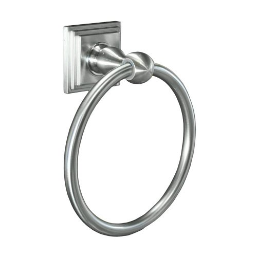 Sure-Loc PB-TR1 15 Pueblo Bath Series Towel Ring, Satin (Pueblo Series)
