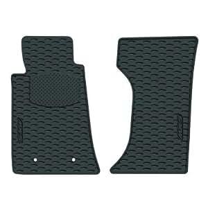 mazda 2008 2009 2010 2011 2012 mx 5 all weather black rubber floor mats genuine. Black Bedroom Furniture Sets. Home Design Ideas