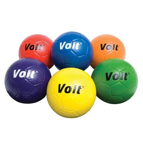 Voit #5 Tuff Foam Soccerball, Blue (Tuff Foam)
