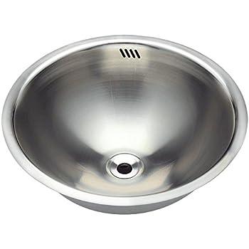 420 18 Gauge Dual Mount Stainless Steel Bathroom Sink