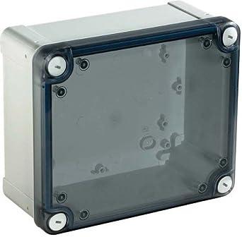 Schneider Electric NSYTBP1397T PC Caja, IP66, IK08, 125mm x 80mm x 65mm Interna, 138mm x 93mm x 72mm Externo, Tapa de PC Opaca H20, Gris: Amazon.es: Industria, empresas y ciencia