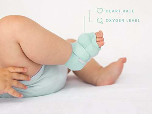 Owlet Smart Sock 2 Baby Monitor - Track Your Infant's Heart Rate & Oxygen Levels by Owlet (Image #2)