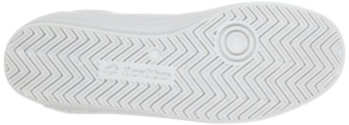 Lotto Sport DIXIE Q5103 - Zapatillas de lona unisex Blanco (Weiß (WHT/SUPER PINK))