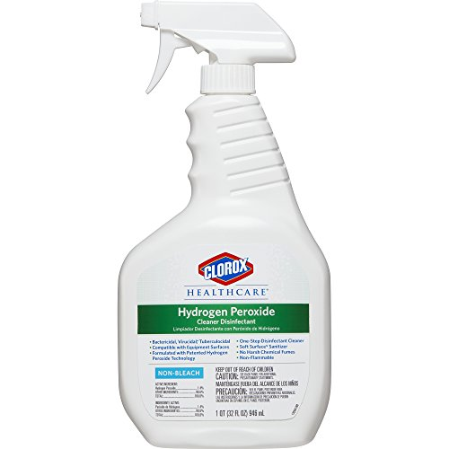 Price comparison product image Clorox Healthcare Hydrogen Peroxide Cleaner Disinfectant, Spray, 32 Ounces (30828)