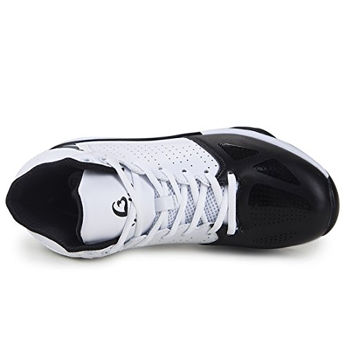 Gaolbu Mens Basketball Shoes Performance Athletic Sneakers (US-10, Black)