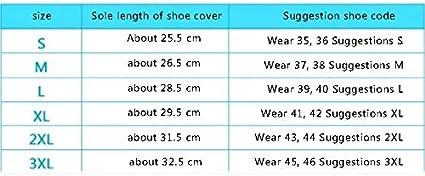 1pc Couvre-Chaussures imperm/éables en PVC mi-tube Zip Bottes de pluie R/éutilisable Antid/érapante Housses Semelles /Épaisse Surchaussure pour Cyclisme Randonn/ée En plein air Rose rouge Cdet