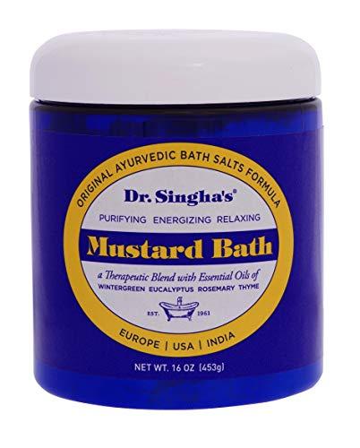 Dr. Singha's Mustard Bath, Therapeutic Bath Salts, 16 Ounce ()