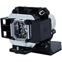 AuraBeam Professional Replacement Projector Lamp for NEC NP07LP With Housing (Powered by Ushio)