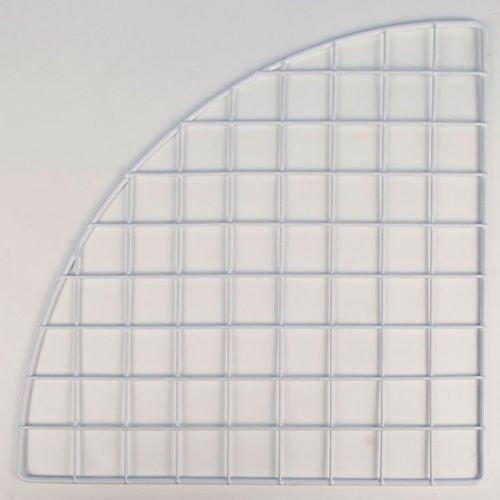 4 Pc New or Retail White finish Mini Grid Corner Panel 14 inch