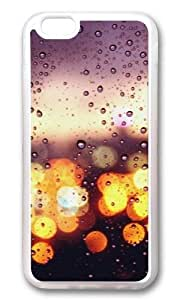 MOKSHOP Adorable Colorful rainy day Soft Case Protective Shell Cell Phone Cover For Apple Iphone 6 (4.7 Inch) - TPU Transparent by lolosakes