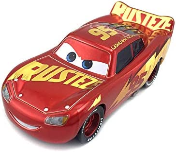 Amazon Com Pixar Cars Toys 95 Lightning Mcqueen Series Diecast