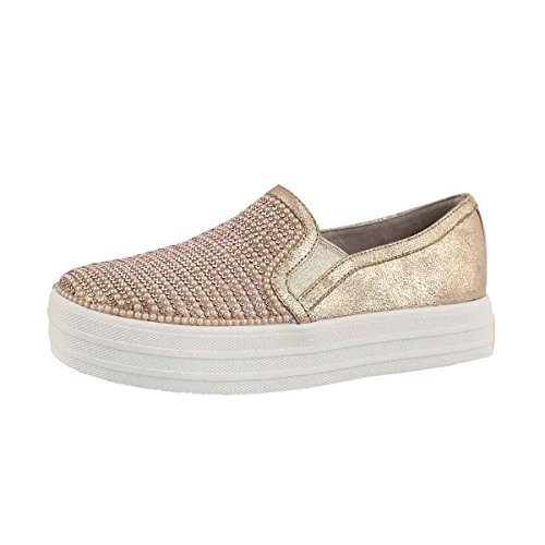 Skechers Mujer flexibles separador Slip On S5ogwI