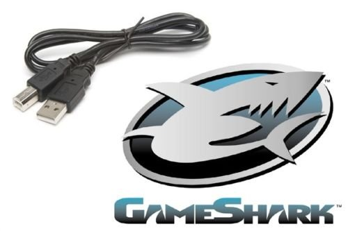 USB Data Cable for GameShark GBA SP Nintendo Gameboy Advance InterAct Pokemon Game Cheats and Codes - Game Cheats Codes