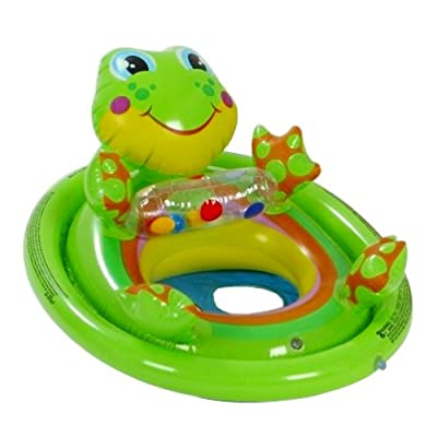 Intex Inflatable See Me Sit Pool Ride for Age 3-4 (Colors/Styles Vary): Toys & Games
