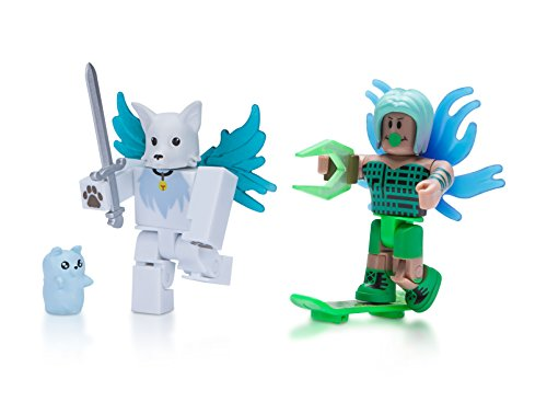(Roblox Celebrity Figure 2-Pack, LA Hoverboarder and Ghost Forces: Phantom)