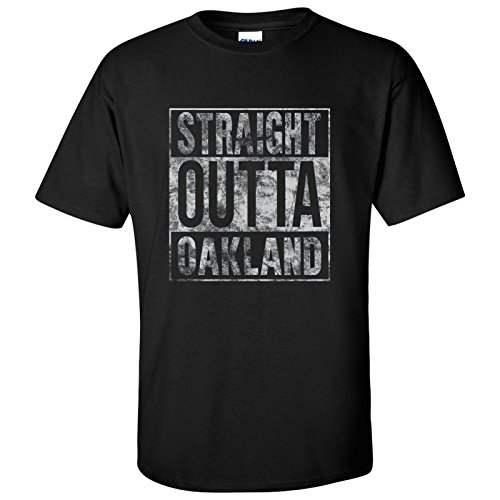 UGP Campus Apparel Straight Outta Oakland T-Shirt - 2X-Large - Black ()