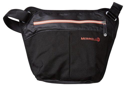 Merrell Women's Extant Tablet Zipper Bag BLACK O/S, Bags Central