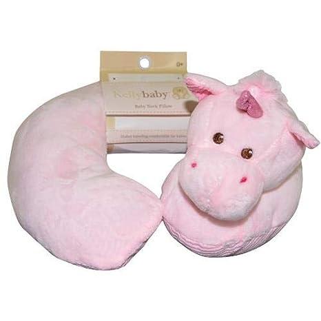 Amazon.com: Cojín para el cuello con diseño de unicornio ...