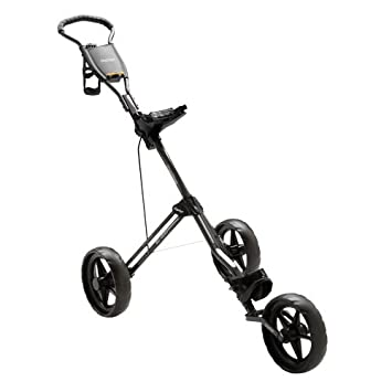 Amazon com : Bag Boy SC-600 Hybrid 3 Wheel Push Cart (Smoke