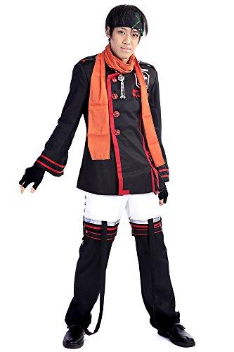 [SDWKIT D.Gray-Man Cosplay Costume Baka Usagi Lavi Exorcist Uniform Outfit Set V3] (Exorcist Halloween Costume Uk)