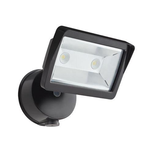 Lithonia Lighting OLFL 14 PE BZ M4 Security LED Dusk-to-Dawn