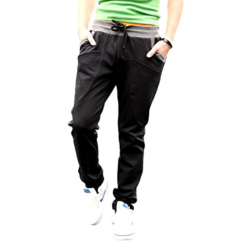 New Men's Casual Jogging Running Gym Sweatpants Slim Fit Sports Trousers