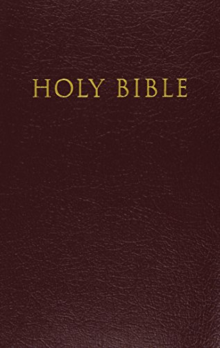 KJV, Reference Bible, Giant Print, Imitation Leather, Burgundy, Red Letter Edition