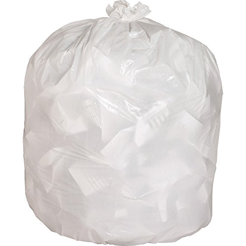 Genuine Joe 02312 Heavy-Duty Trash Bags, .8 Mil, 13 Gallon, 24