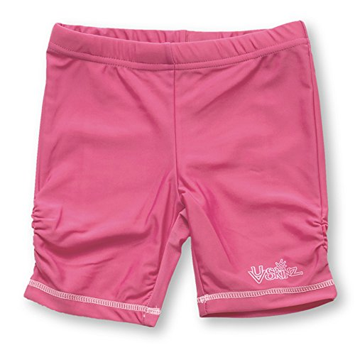 UV SKINZ UPF50+ Girls Swim & Play Jammerz-Bubblegum Pink-4T