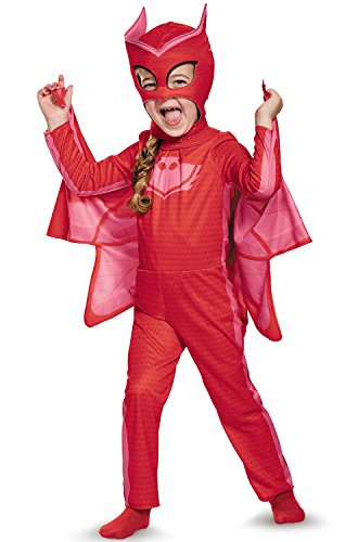 Owlette Classic Toddler PJ Masks Costume, -