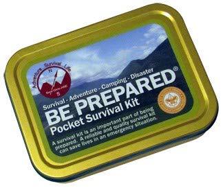 Best Glide ASE Be Prepared Pocket Survival Kit PSK Holder not ()