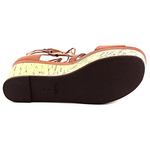Sandali Womens Coach Barkley Casual Toe Saddle Platform Open Matte Calf Semi YZZrOxqn