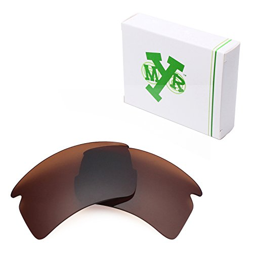 Mryok Polarized Replacement Lenses for Oakley Flak 2.0 XL - Bronze - Bronze Sunglasses