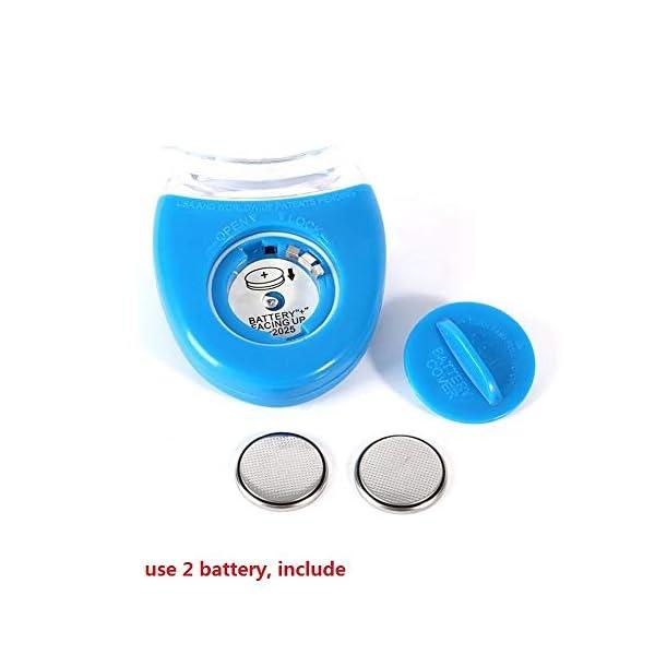 CZTY Luz LED para blanquear los Dientes Gel blanqueador para la Salud Cuidado bucal para el Tratamiento Dental Personal Herramientas para blanquear los Dientes 5