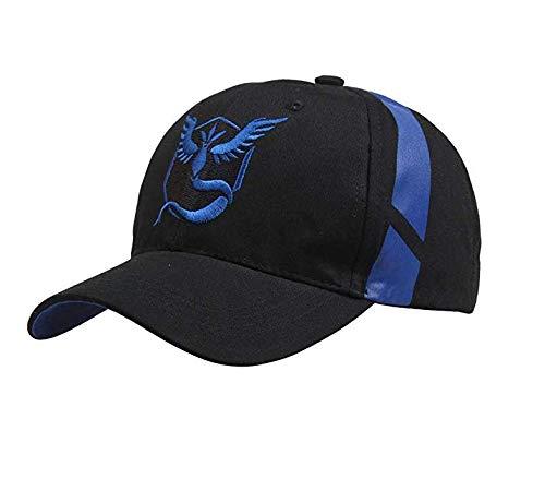 Keklle Embroidered Pokemon Go Hats Team Mystic,Valor,Instinct Baseball Hat Cap - Blue for $<!--$12.99-->