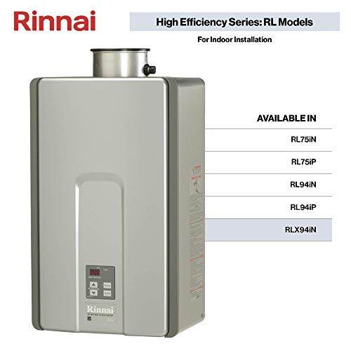 Rinnai RLX Series HE+ Tankless Hot Water