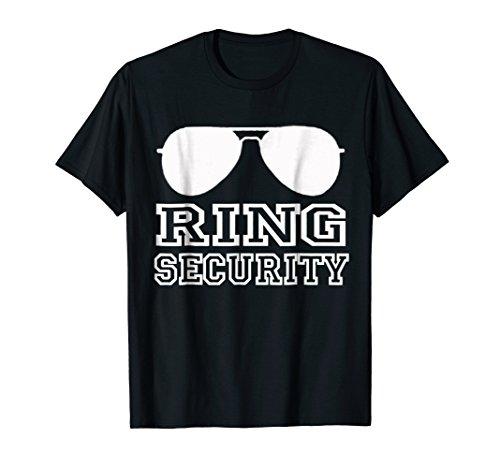Ring Security Shirt | Ring Bearer T-Shirt Boys Wedding Party -