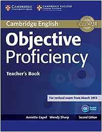 Objective Proficiency Teachers Book Second edition: Amazon.es ...