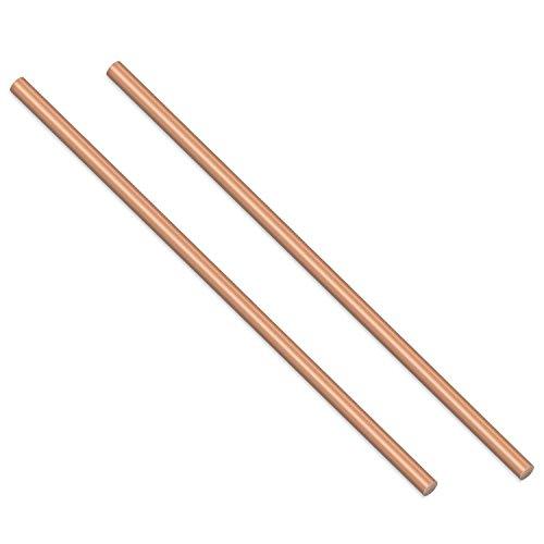 - Sutemribor 2PCS Copper Round Rod, 3/16