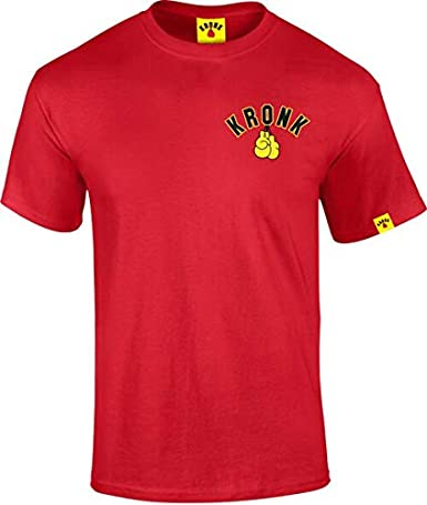 KRONK Thomas Hearns Training Camp Camiseta de Corte Regular para Hombre