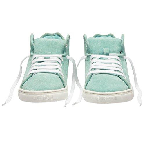 Sneakers Tedish Signore Che Camminano Le Scarpe In Pelle Ragazza Confortevole Casuale Lace-up Degli Appartamenti Td003 Claire Cascade