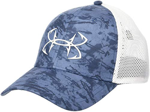 the best attitude 1a16a 2898e Under Armour Outerwear Men s Fish Hunter Cap, Thunder (407) Elemental, Large