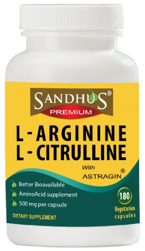 Arginine et la citrulline avec